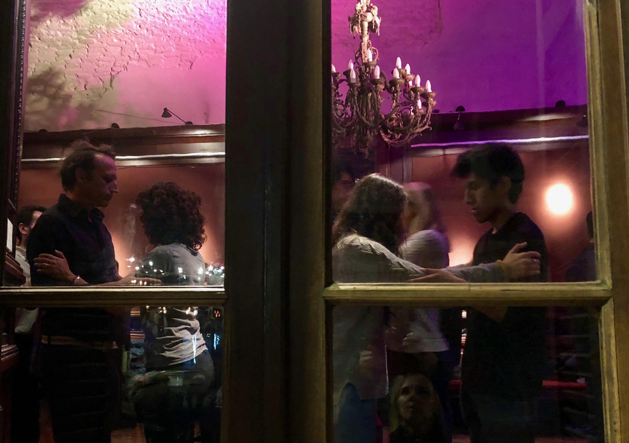 Patio de tango à la Manzana de las Luces